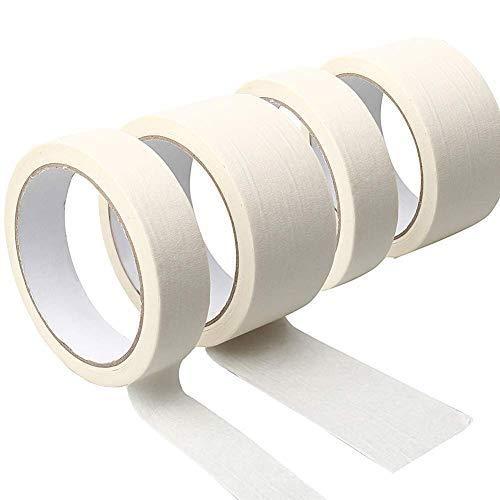 Urhomy マスキングテープ 絵画 装飾品 工芸品 マルチユースイージーティアテープ 多目的 ペインターテープ ベージュ 製図テープ スクラップブックテープ アート用 ラベリングテープ 文房具 子供 学校 壁紙 シール インテリア はがせる リメイクシー