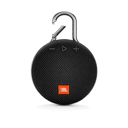 JBL Clip 3, Wireless Portable Bluetooth Speaker with Mic,...