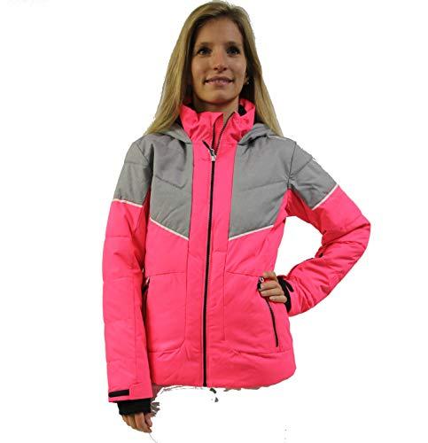 CMP - Chaqueta de esquí para niña, Color H526 Fuxia Fluo, tamaño 128