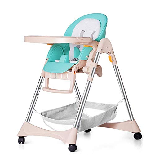 N/Z Daily Equipment Liudan Highchairs High Chair Baby Dining Chair Children's Table Foldable Multi Kinetic Dining Chair Infant Learning Sitting Chair Child BB Stool