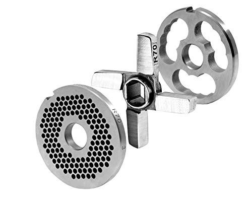 WolfCut R70 Lochscheibensatz 3mm Bohrung 1 Vorschneider und 1 Kreuzmesser System Unger Werkzeugstahl