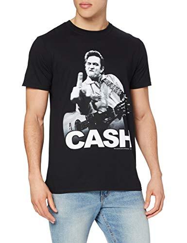 Fanpac T-shirt Imprimé musique et film Homme, Noir (Black), FR: Small (Taille fabricant: Small)