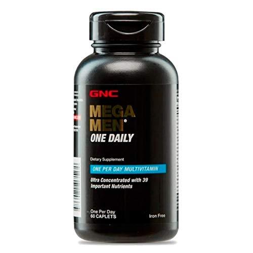 Mega Men One Daily Multivitamínico Um Por Dia 60 Caps GNC