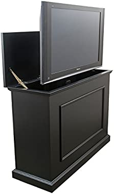 "Touchstone 72011 - Elevate TV Lift Cabinet - TVs Up to 50 Inch Diagonal (45"" Wide TV) - Black - 50 in Wide - Quiet & Quick Wh"