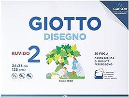 Giotto Album Disegno 2, A4, Carta Ruvida, 583000