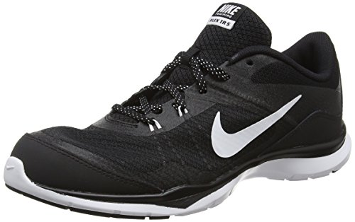 Nike Damen Flex Trainer 5 Hallenschuhe, Schwarz (Black/White-Anthracite), 42 EU