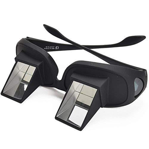 寝たまま メガネ LAZY READERS 寝ながら スマホ 読書 TV が楽しめる 仰向け プリズム メガネ 反射メガネ