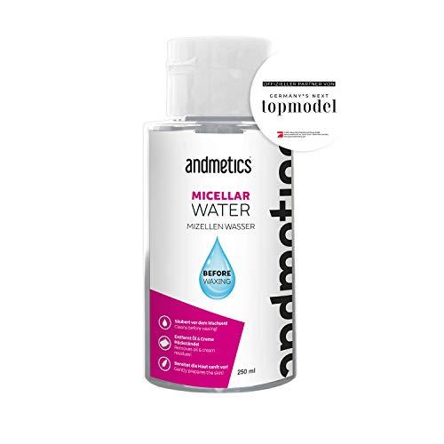 andmetics - Hautreinigung vor dem Waxing - Micellar Water 250ml