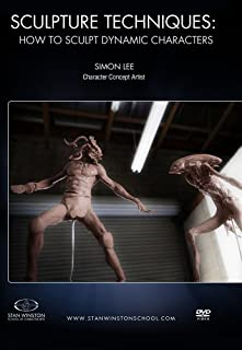 Sculpture Techniques - How to Sculpt Dynamic Characters: Learn speed sculpture techniques for creating dynamic creature maquettes and monster designs in clay by Simon Lee