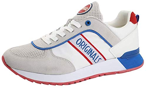Colmar Travis Runner/Bianco - Sneakers da Uomo Travis Runner (Numeric_41)