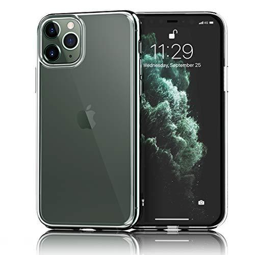 "UNBREAKcable iPhone 11 Pro Hülle - Handyhülle iPhone 11 Pro Ultra-Slim Staubdicht, Weiche TPU-Silikon-Schutzhülle, Case, Cover für Apple iPhone 11 Pro 5.8\"" mit Vergilbungs-Schutz - Transparent"