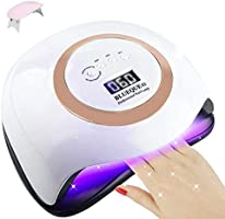 168W Nail Lamp for Gel Polish AUSELECT Ultra Fast Nail Dryer 42LED Professional UV LED Nail Lamp with 4 Timer Setting...