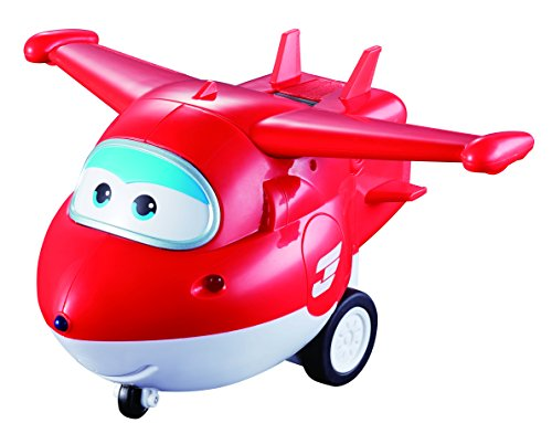 Alpha Animation & Toys- Remote Control Jett Auldeytoys YW710710-Remote Rojo, Color Blanco (Super Wings YW710710)