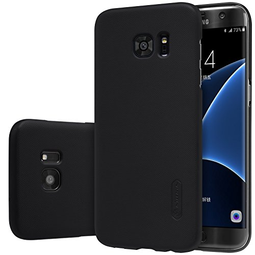 Nillkin Kstyle Plastic Slim Cover with Screen Protector for Galaxy S7 Edge (Frosted Black)