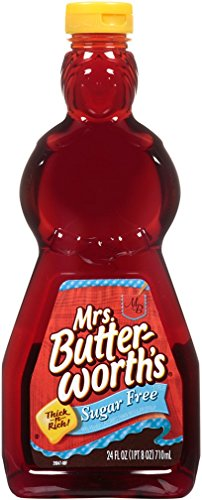 Mrs Butterworth#039s Syrup Sugar Free 24 Ounce