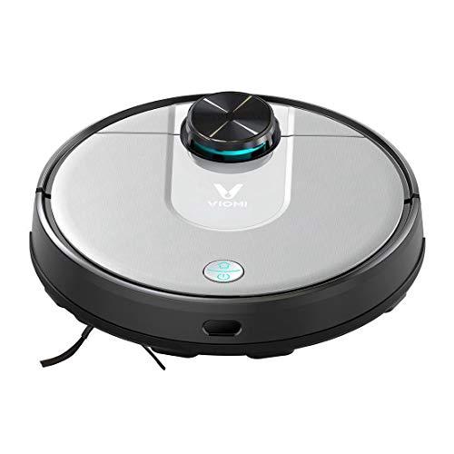 Viomi Robot Vacuum Cleaner V2 Pro Saug- und Wischroboter (Saugleistung 2100Pa, 120min Akkulaufzeit, 300ml Staub-/200ml...