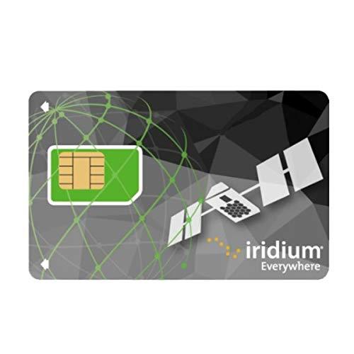 Tarjeta SIM prepaga Global de Iridium Satellite Phone con 300 minutos (validez de 12 meses)