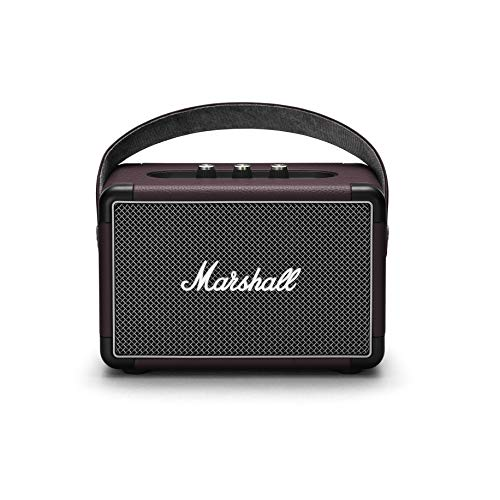 Marshall Kilburn II Portable Bluetooth Speaker, Burgundy, One Size