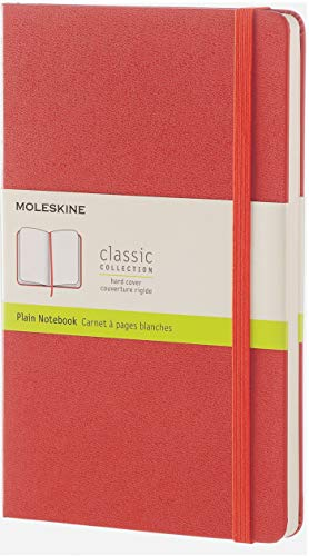 Moleskine Carnet classique - grand format - pages blanches -