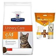 HILL'S PRESCRIPTION DIET C/D Urinary Care Cat Food (Chiken) 1,5 kg + 1 VetIQ 65g