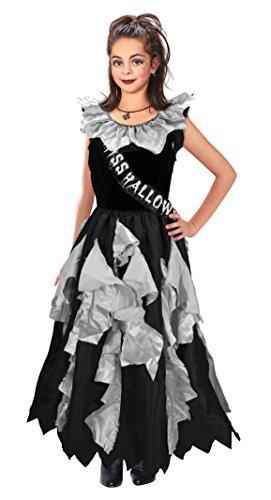 Bristol novità CC180zombie Prom Queen costume, grigio, grande, 134–146cm