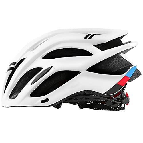 Yililay Casco de la Bici, Montar a Caballo Ligero tapón de Seguridad, Transpirable, Ruta de montaña el Equipo de Ciclo de Las Mujeres de los Hombres del Deporte al Aire (Blanco)