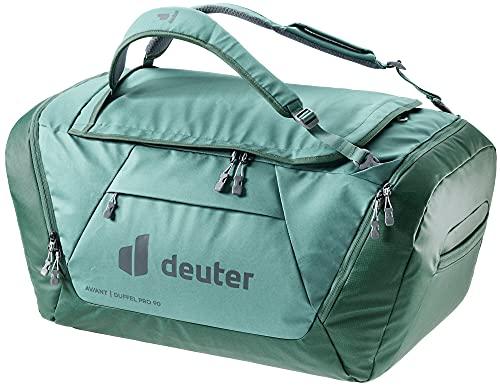 Deuter AViANT Duffel PRO 90, Borsa Sportiva Unisex-Adult, Jade-Seagreen, 90 L