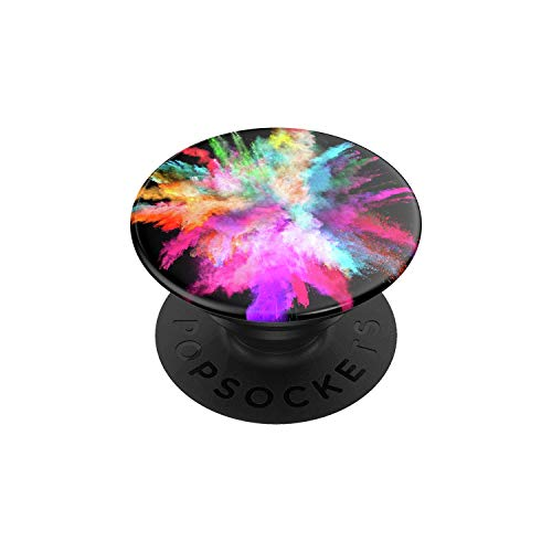 PopSockets: PopGrip with Swappable Top for Phones & Tablets - Color Burst Gloss