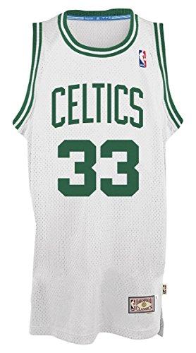 adidas Larry Bird Boston Celtics NBA Throwback Swingman Jersey Maglia - White