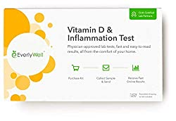 Vitamin D home test kit by Every Well