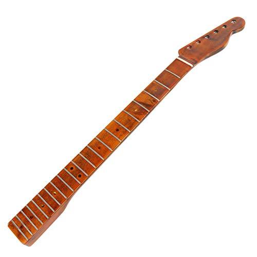 Cuello de guitarra de repuesto adecuado para guitarra DIY, mástil de guitarra eléctrica de arce, diapasón de 21 trastes para TL Tele