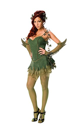 Rubie's officiële Poison Ivy Batmanjurk voor dames, volwassenen, maat XS
