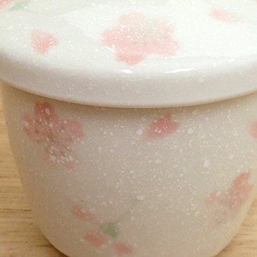 カワイ商会四季彩-陶器ONLINE-『さくらさくら蒸し碗業務用美濃焼』