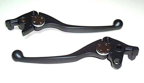 Bremshebel und Kupplungshebel Paar für Yamaha FZR 1000 EXUP Bj. 1991-1994 Lenkerhebel schwarz pulverbeschichtet