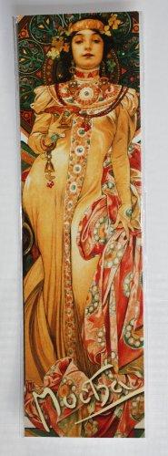 Jugendstil Lesezeichen, Alphonse-Moet Chandon-Dry &Imperial von Alphonse Mucha von 1899 Malen