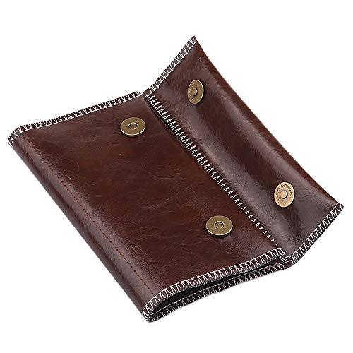 Tabak Tas, Draagbare Sigaret Rolling Pipe Tabak Pouch Case Portemonnee Tip Papier Houder Roken Accessoires 3.5X6.1'' A