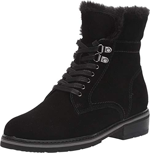 Blondo New Women's Vedette Waterproof Ankle Boot Black Suede 7.5