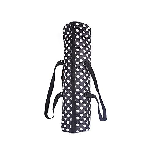 SZBLYY Bolsa de Yoga Cubierta de la Estera de Yoga Bolsa de Yoga Portador a Prueba de Agua Pilates Mats Bag Pads Backpack Portable Oxford Ejercicio Bolsa (Color : Dot)