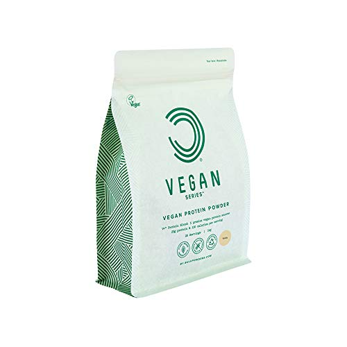 BULK POWDERS Vegan Protein Powder, Vanilla, 1 kg