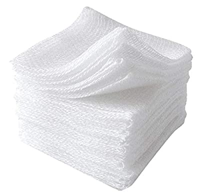"""Case of 100 USP Surgical Gauze Pads 2"""" x 2"""". Sterile 12-ply sponges for Wound Dressing, Cleaning, prepping, or Packing. Wound Care Dressing Pads. Latex-Free."""