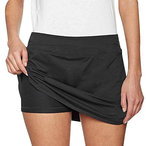 Alomejor Vrouwen Sport Shorts Vrouwen Meisjes Rokken Shorts Ademende Workout Jogging Broek met Pocket voor Dames Meisjes