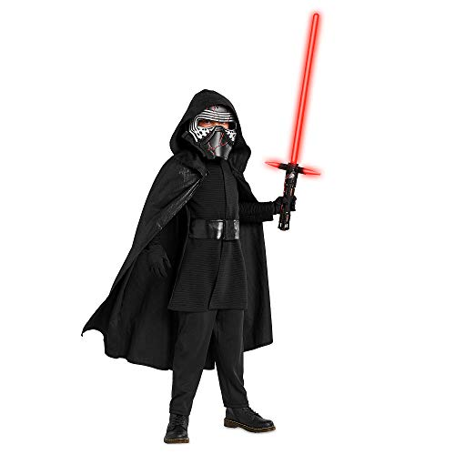 Star Wars Kylo Ren Costume for Boys – The Rise of Skywalker- Size 7/8 Multi