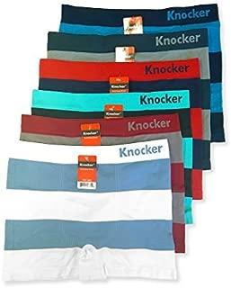 Knocker 6 Men's Seamless Boxer Briefs Underwear