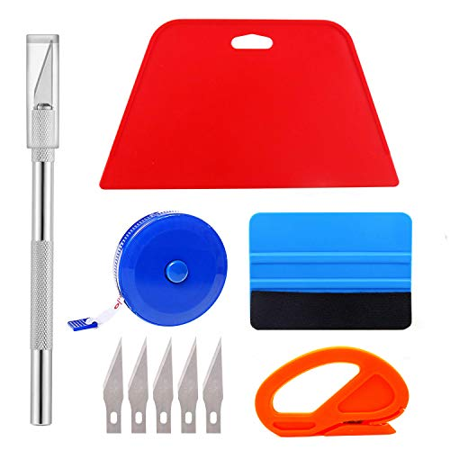 Ewrap Professional Wallpaper Tool Wallpaper Application Tool with Cutting Tool, Felt Squeegee, Hard...