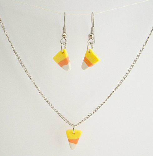 candy corn necklace - 9