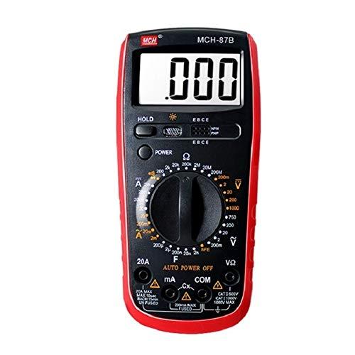 YZLP osciloscopio Tres y Medio multímetro Digital portátil portátil de Alta precisión for el hogar Mini Bolsillo eléctrico MCH-87B