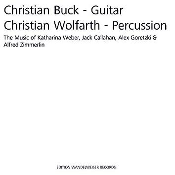 The Music of Katharina Weber, Jack Callahan, Alex Goretzki & Alfred Zimmerlin