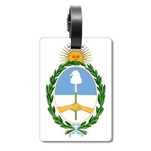 Etiqueta de identificación para Maleta con Emblema Nacional de Buenos Aires Argentina