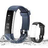 Muzili Activity Tracker, Bluetooth - Blue,Black