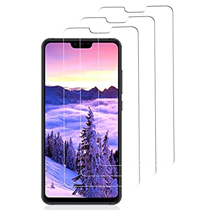 3 Piezas Protector de Pantalla para Xiaomi Mi 8 Lite, Sin Burbujas [3D touch/9H Dureza] [Anti arañazos] [Fácil de Instalar] Cristal Vidrio Templado para Xiaomi Mi 8 Lite - Transparente (Transparente)